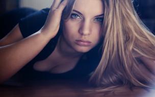 Alina Stolzenburg, лицо, взгляд, волосы, портрет