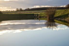 вода, отражение