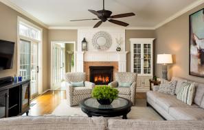 интерьер, спальня, colors, style, furniture, fireplace, living, room, цветы, стиль, мебель, камин, гостиная