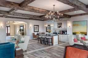 интерьер, кухня, стиль, стол, стулья