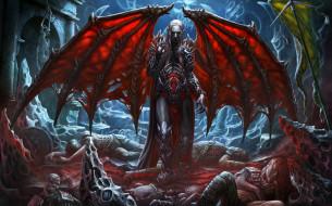 вампир, крылья, жертвы, смерть