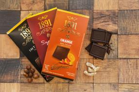 еда, конфеты,  шоколад,  сладости, шоколадки