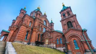 helsinki,  finland, города, хельсинки , финляндия, храм