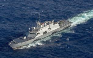 море, литоральный, боевой, корабль