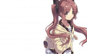 аниме, black bullet, девочка
