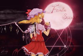 аниме, touhou, flandre, scarlet