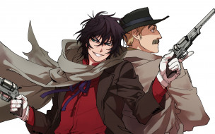 аниме, drifters, anime, revolver, man, asian, japanese, american, gun, weapon, drifter