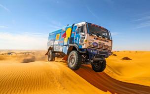 Rally, Дюна, Камаз, 400, День, Master, Kamaz, Песок, Ралли, Дакар, Dakar, Спорт
