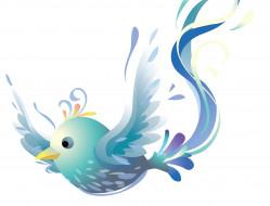 птица, фон