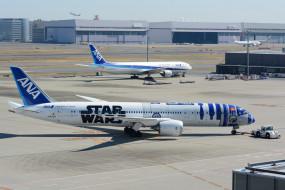 Boeing, B787-981, ANA, аэродром