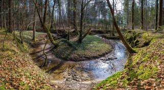 обои для рабочего стола 2048x1123 природа, реки, озера, река, лес