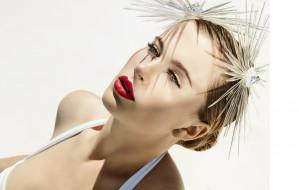 девушки, -unsort , лица,  портреты, лицо, украшения, блондинка, купальник
