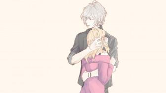 аниме, diabolik lovers, пара