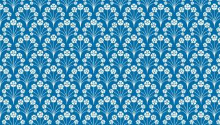 голубой, узор, орнамент