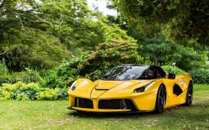 Ferrari LaFerrari Aperta, жёлтый, Aperta