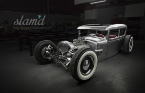 автомобили, custom classic car, streetrod