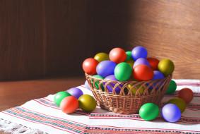 рушники, праздник, крашенки, корзинка
