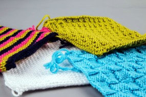 вязание, образцы