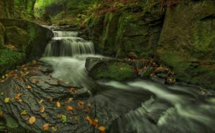 поток, камни