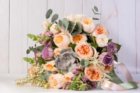 цветы, букеты,  композиции, букет, розы, зелень