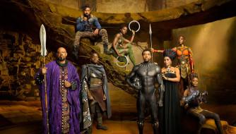 кино фильмы, black panther, black, panther