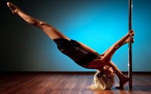 спорт, фитнес, ноги, блондинка, тренировка, руки