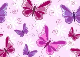 векторная графика, животные , animals, цветы, лента