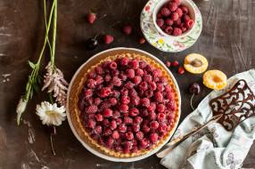 еда, пироги, ягоды, фрукты, выпечка, начинка, пирог