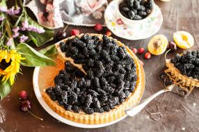 еда, пироги, фрукты, выпечка, начинка, ягоды, пирог