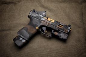 фон, Glock, стиль, пистолет