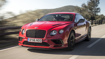 bentley continental gt supersports coupe 2018, автомобили, bentley, 2018, coupe, supersports, gt, continental
