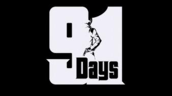 аниме, 91 days, парень