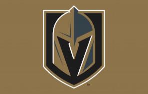 логотип, фон, Vegas Golden Knights