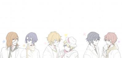 обои для рабочего стола 2246x1080 аниме, uta no prince-sama, поющий, принц
