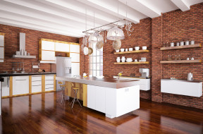 интерьер, кухня, дизайн, уют, стиль