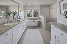 ванная, стиль, дизайн