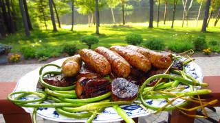 еда, колбасные изделия, мясо