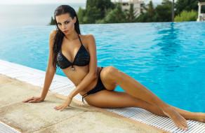 купальник, Justyna Gradek, бассейн
