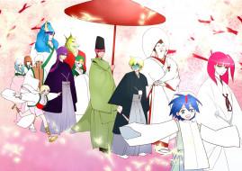 аниме, magi the labyrinth of magic, персонажи