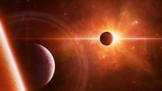 обои для рабочего стола 2560x1440 космос, арт, вселенная, звезды, галактика, планеты