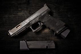 Taran Tactical, пистолет, фон, Combat Master, обойма