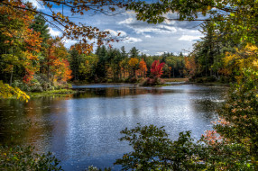 обои для рабочего стола 2048x1364 природа, реки, озера, река, лес