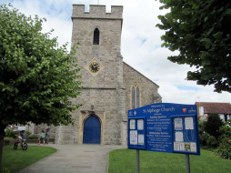 st alphege`s church, whitstable, kent, uk, города, - католические соборы,  костелы,  аббатства, st, alphege's, church