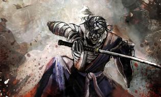 аниме, rurouni kenshin, shishio, меч, самурай, makoto