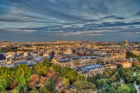 paris, города, париж , франция, панорама