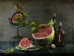 еда, арбуз, август, лето, натюрморт, светлана, андреянова, фрукты