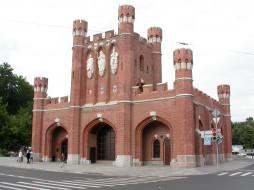 королевские ворота, города, - исторические,  архитектурные памятники, королевские, калининград, ворота