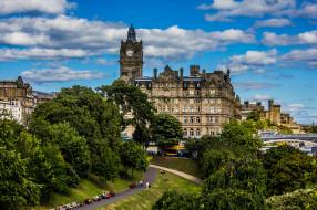 edinburgh,  scotland, города, шильонский замок , швейцария, панорама