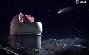 космос, техника, наука, телескоп, Обсерватория