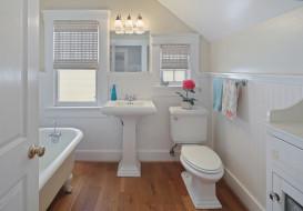 дизайн, стиль, ванная, уют